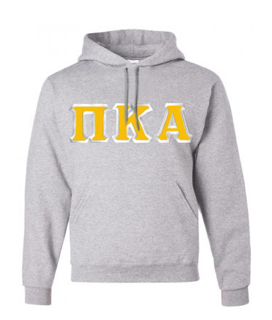 Pi Kappa Alpha Custom Twill Hooded Sweatshirt