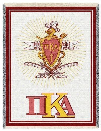 Pi Kappa Alpha Afghan Blanket Throw