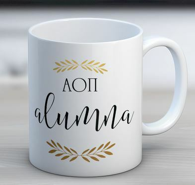 Alpha Omicron Pi Alumna Coffee Mug