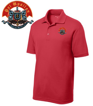 DISCOUNT-Psi Upsilon Emblem Polo