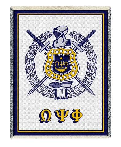 Greek Crest - Shield Afghans