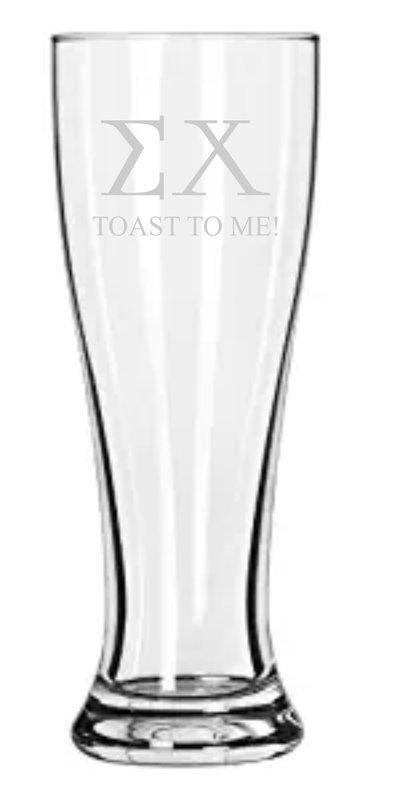 Engraved Fraternity & Sorority Holland Glass