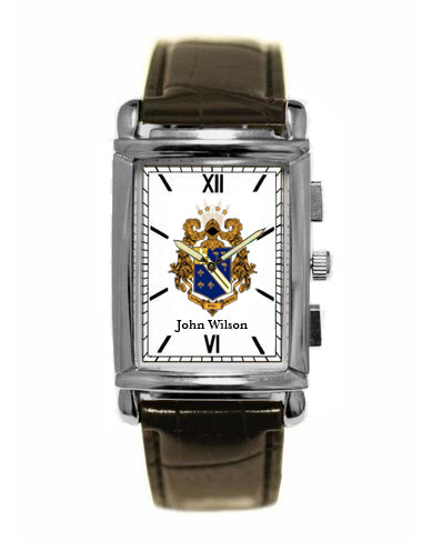 Alpha Phi Omega Greek Classic Wristwatch