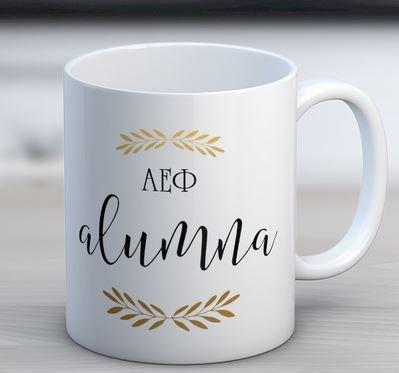 Alpha Epsilon Phi Alumna Coffee Mug