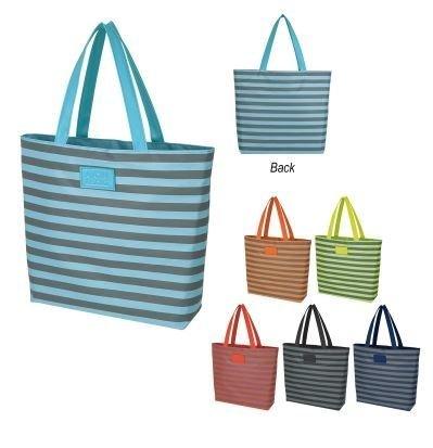 Sorority Stripes Tote Bag