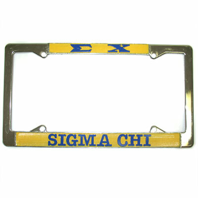 Fraternity / Sorority License Plate Frames