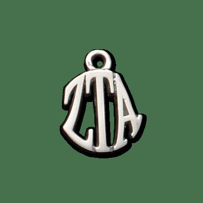 Sorority Silver Circle Charm