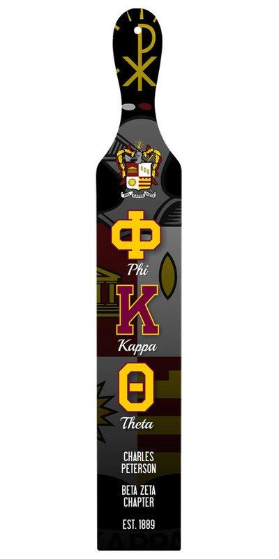 Phi Kappa Theta Custom Full Color Paddle