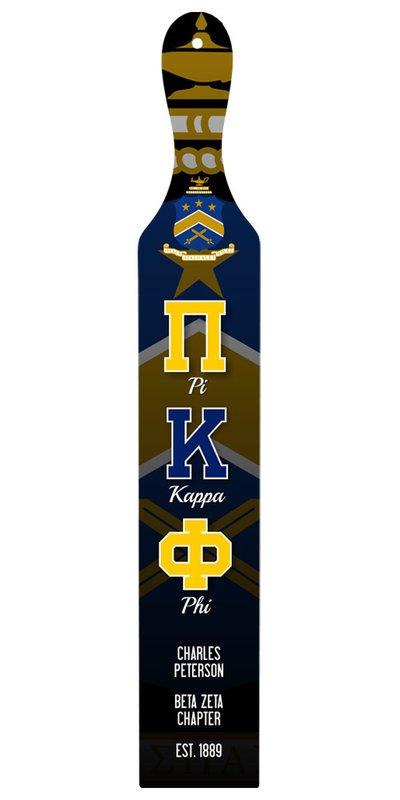 Pi Kappa Phi Custom Full Color Paddle