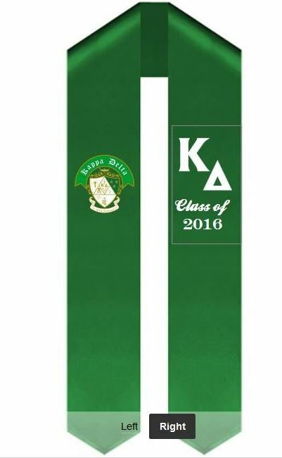 Design Your Own Graduation Sash
