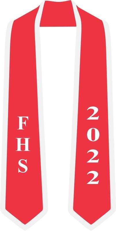 Custom High School Graduation Stole