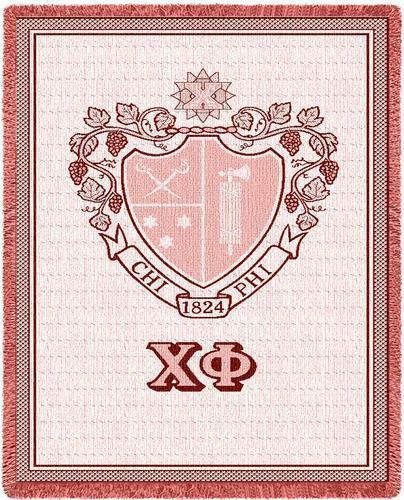 Chi Phi Afghan Blanket Throw
