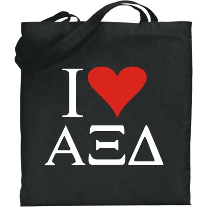 I Love Sorority Tote
