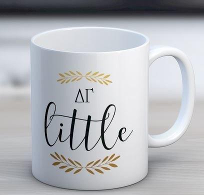 Delta Gamma Little Coffee Mug