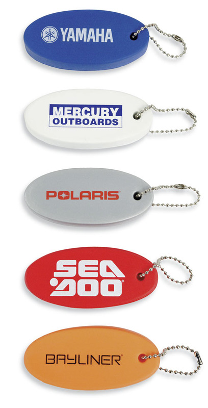 Custom Printed SURE FLOAT KEY CHAIN