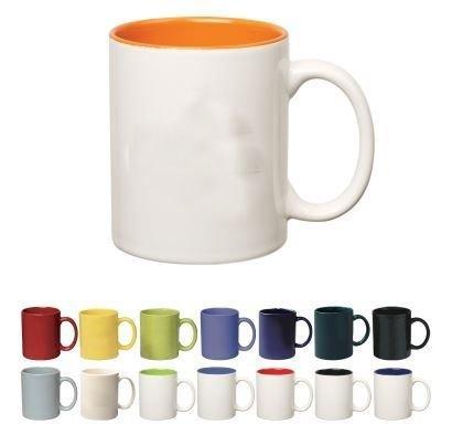 Fraternity & Sorority 11 oz. Colored Stoneware Mug