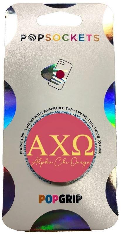 Alpha Chi Omega 2-Color PopSocket