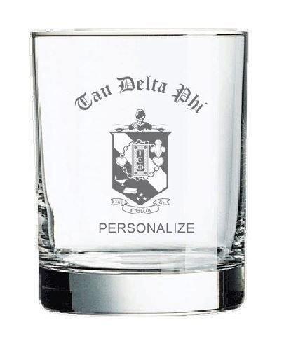 Tau Epsilon Phi Old Style Glass