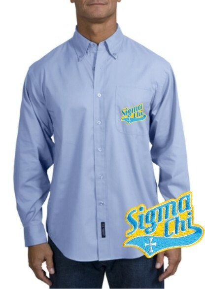 DISCOUNT-Fraternity Long Sleeve Oxford