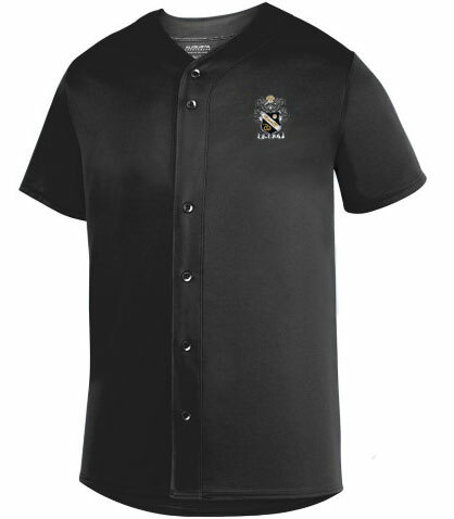 DISCOUNT-Sigma Nu Fraternity Crest - Shield Sultan Baseball Jersey