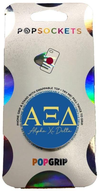 Alpha Xi Delta 2-Color PopSocket
