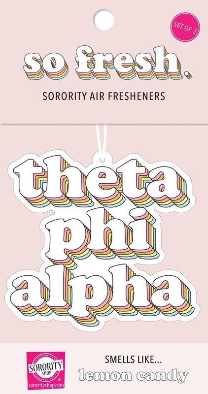 Theta Phi Alpha Retro Air Freshener (2 pack)