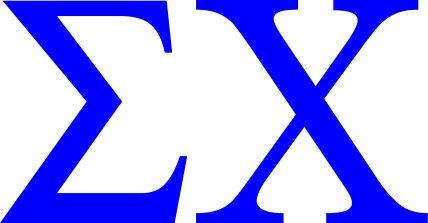 Sigma Chi Greek Letter Window Sticker Decal