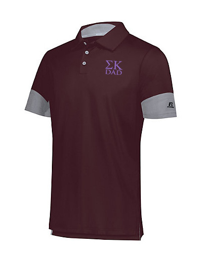 Sigma Kappa Dad Hybrid Polo