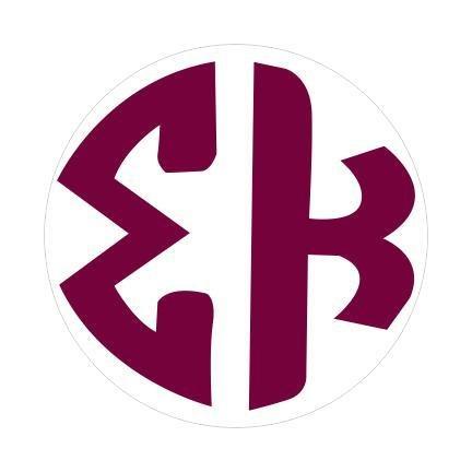 Sigma Kappa Monogram Decal