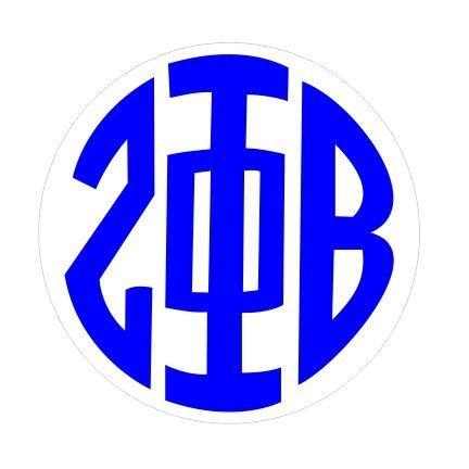 Zeta Phi Beta Monogram Decal