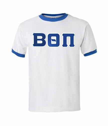 DISCOUNT- Greek Lettered Ringer Tee