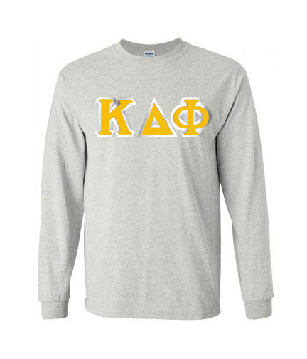 $19.99 Kappa Delta Phi Custom Twill Long Sleeve T-Shirt