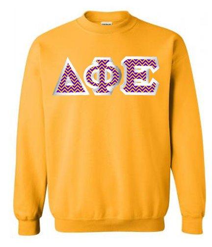 $25 Delta Phi Epsilon Custom Twill Sweatshirt
