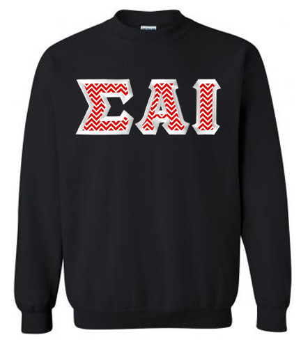 $25 Sigma Alpha Iota Custom Twill Sweatshirt