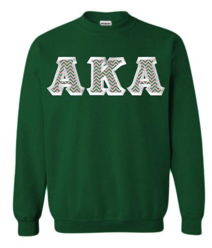 $29.99 Alpha Kappa Alpha Custom Twill Sweatshirt