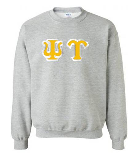 $25 Psi Upsilon Custom Twill Crewneck Sweatshirt