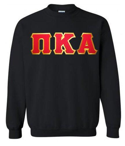 DISCOUNT Pi Kappa Alpha Lettered Crewneck