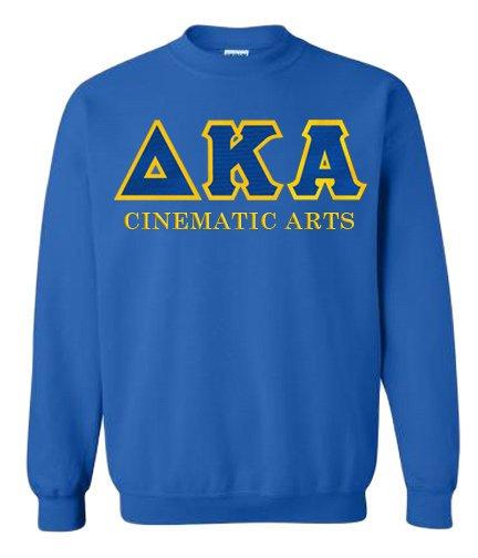 $35 Delta Kappa Alpha Custom Twill Crewneck Sweatshirt