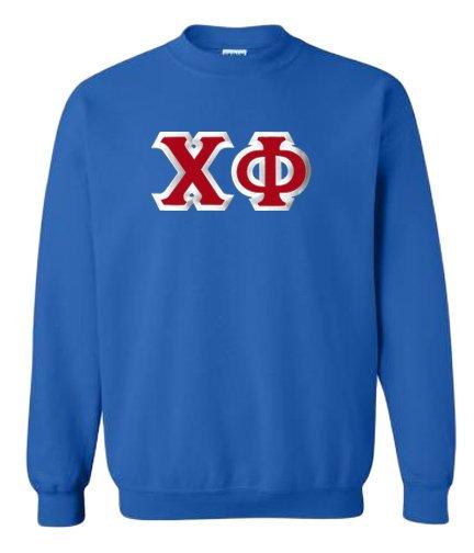 Chi Phi Custom Twill Crewneck Sweatshirt