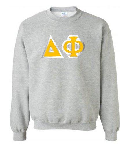 Delta Phi Custom Twill Crewneck Sweatshirt