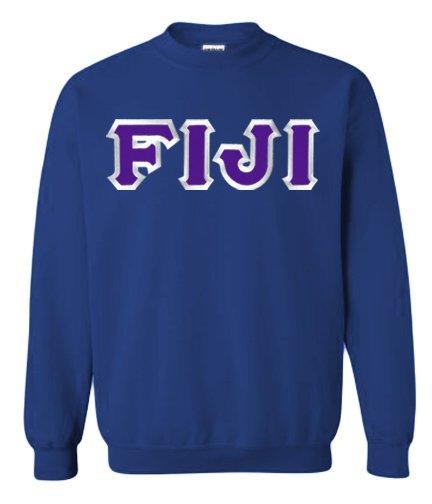 FIJI Fraternity Custom Twill Crewneck Sweatshirt
