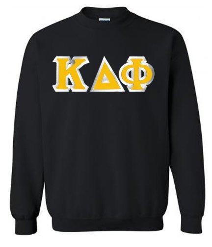 Kappa Delta Phi Custom Twill Crewneck Sweatshirt
