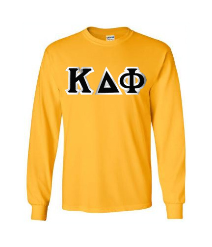 Kappa Delta Phi Custom Twill Long Sleeve T-Shirt