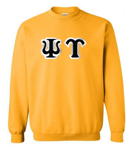 Psi Upsilon Custom Twill Crewneck Sweatshirt