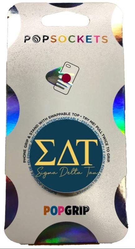 Sigma Delta Tau 2-Color PopSocket