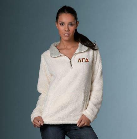Alpha Gamma Delta Sherpa Pullover