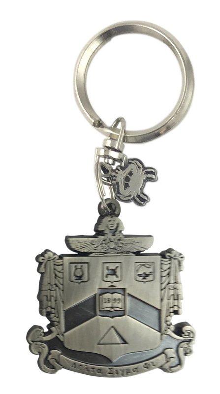 Delta Sigma Phi Alloy Keychains