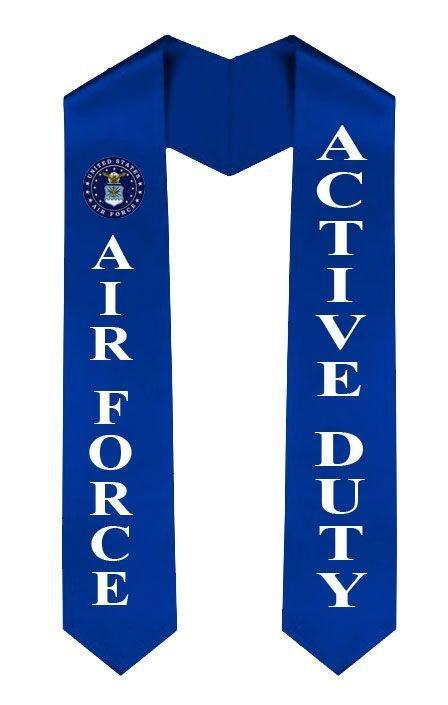 US Air Force Graduation Sash Stole