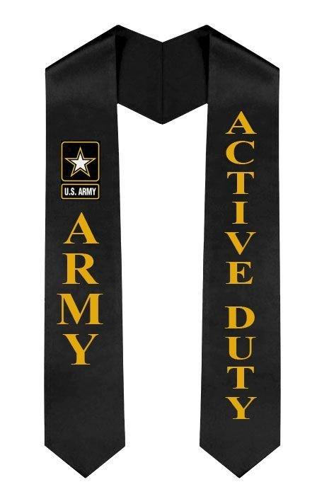 US Army Graduation Sash Stole