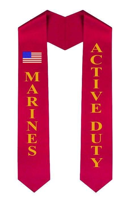 Marine Graduation Sash Stole
